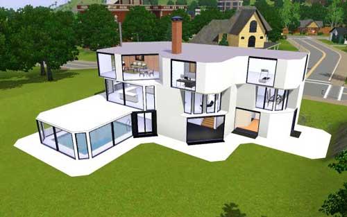 Скачать красивые дома к игре sims 3